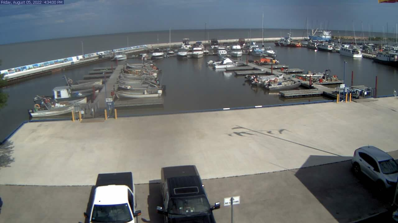 Webcam Gimli Harbour - Lake Winnipeg Manitoba